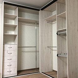 Встроенный шкаф-купе № 0375
