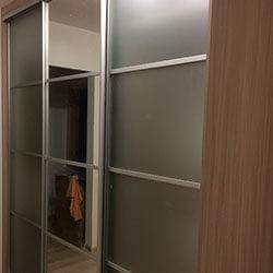 Встроенный шкаф-купе № 0376
