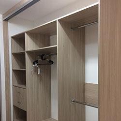 Встроенный шкаф-купе № 0377