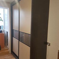 Встроенный шкаф-купе № 0378