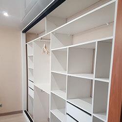 Встроенный шкаф-купе № 0381