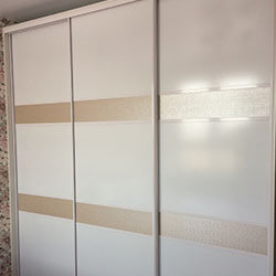 Встроенный шкаф-купе № 0382