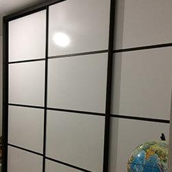 Встроенный шкаф-купе № 0384