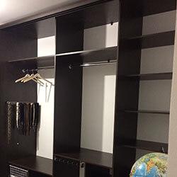 Встроенный шкаф-купе № 0385