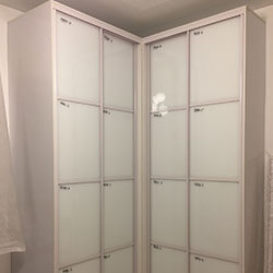 Встроенный шкаф-купе № 0392