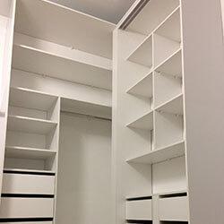 Встроенный шкаф-купе № 0393