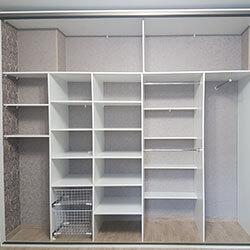 Встроенный шкаф-купе № 0395