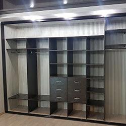 Встроенный шкаф-купе № 0398