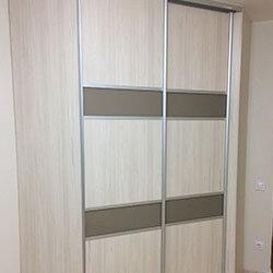 Встроенный шкаф-купе № 0399