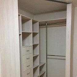 Встроенный шкаф-купе № 0400