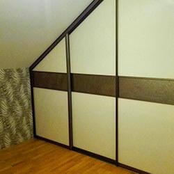Встроенный шкаф-купе № 0401