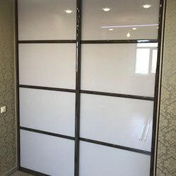Встроенный шкаф-купе № 0045