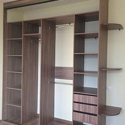 Встроенный шкаф-купе № 0406
