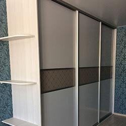 Встроенный шкаф-купе № 0407