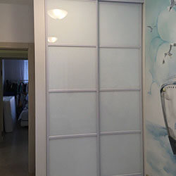 Встроенный шкаф-купе № 0046