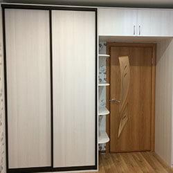 Встроенный шкаф-купе № 0417