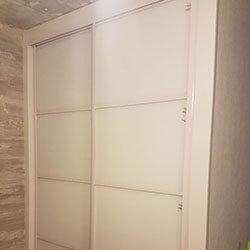 Встроенный шкаф-купе № 0421