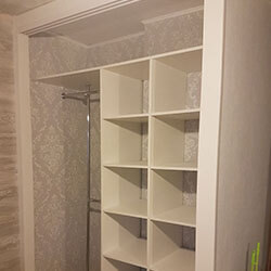 Встроенный шкаф-купе № 0422