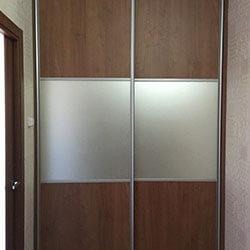 Встроенный шкаф-купе № 0047