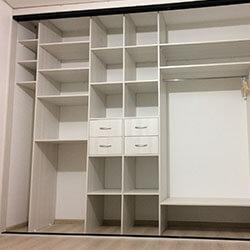 Встроенный шкаф-купе № 0424