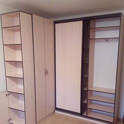 Встроенный шкаф-купе № 0429