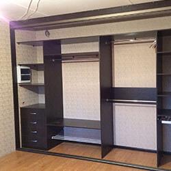 Встроенный шкаф-купе № 0432
