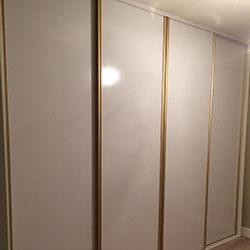 Встроенный шкаф-купе № 0433