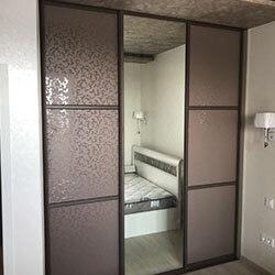 Встроенный шкаф-купе № 0048