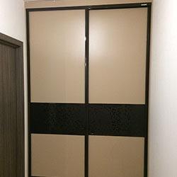 Встроенный шкаф-купе № 0439
