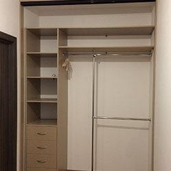 Встроенный шкаф-купе № 0440