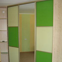 Встроенный шкаф-купе № 0443