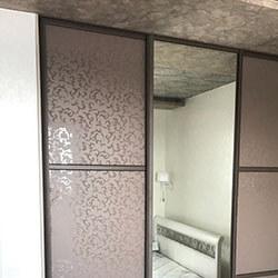 Встроенный шкаф-купе № 0049