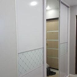 Встроенный шкаф-купе № 0445