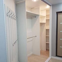 Встроенный шкаф-купе № 0446