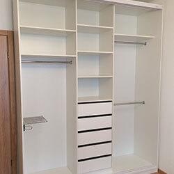Встроенный шкаф-купе № 0448