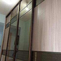 Встроенный шкаф-купе № 0449