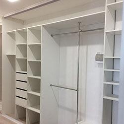 Встроенный шкаф-купе № 0453