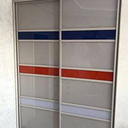 Встроенный шкаф-купе № 0050
