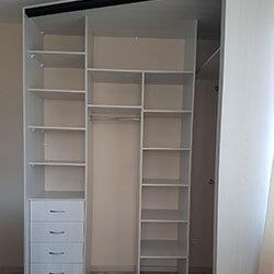 Встроенный шкаф-купе № 0459