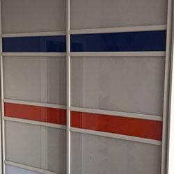 Встроенный шкаф-купе № 0051