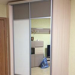 Встроенный шкаф-купе № 0466