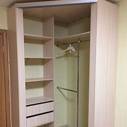 Встроенный шкаф-купе № 0467