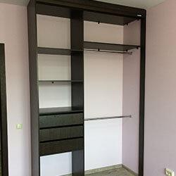 Встроенный шкаф-купе № 0479