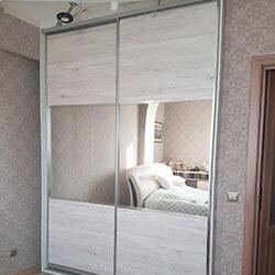 Встроенный шкаф-купе № 0482