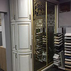 Встроенный шкаф-купе № 0053