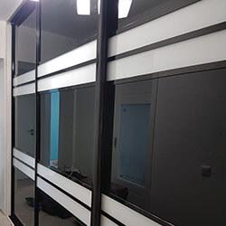 Встроенный шкаф-купе № 0488