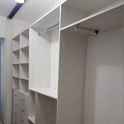 Встроенный шкаф-купе № 0489