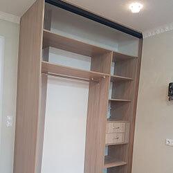 Встроенный шкаф-купе № 0491