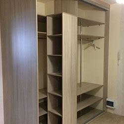 Встроенный шкаф-купе № 0493