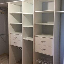 Встроенный шкаф-купе № 0495